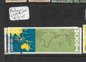 MALAYSIA  (P2403B)  TELECOM  SG 42-3  VFU