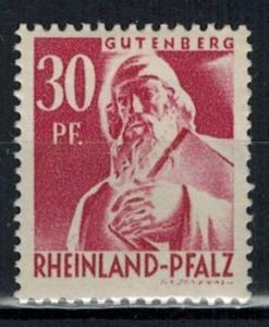 Germany - French Occupation - Rhine Palatinate - Scott 6N9 (SP)