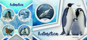 Z08 MLD190305ab MALDIVES 2019 Antarctica MNH ** Postfrisch