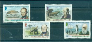 Ascension Is. - Sc# 985-8. 2009 Charles Darwin, Birds, Wildlife. MNH. $12.00.