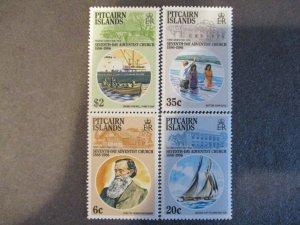 Pitcairn Islands #277-80 Mint Never Hinged - (1C9) WDWPhilatelic