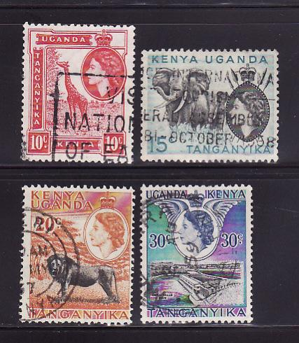 Kenya, Uganda, Tanzania 104-105, 107-108  Elizabeth II (C)