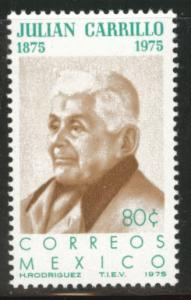 MEXICO Scott 1088 MNH** 1975 Carrilo stamp