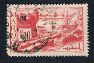 French Morocco 206 Used Ramparts of Sale (BP13715)