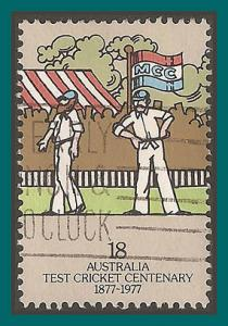 Australia 1977 Cricket Centenary, used  663,SG649