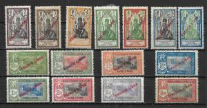 French India 117-23, 24-7, 31-4 Libre part set MH