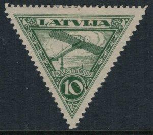 Latvia #C3* no gum  CV $4.50