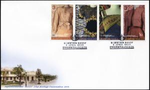 Thailand. 2016. Traditional clothing (Mint) First Day Cover