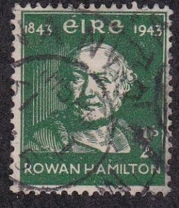 Ireland # 126,  Sir Rowan Hamilton, Used