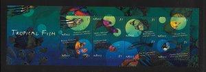 FISH - NEVIS #1191  MNH