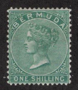 Bermuda #6 > Issue of 1865-74 > MH VF/EF > Disturbed Original Gum > SCV $450