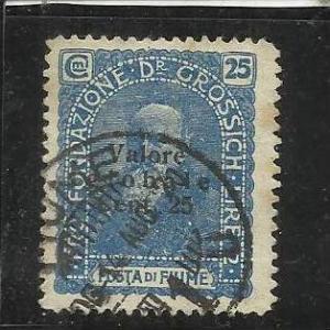 FIUME 1919 PRO FONDAZIONE DR GROSSICH TIMBRATO USED