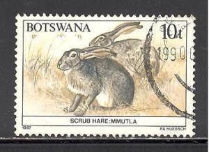 Botswana 411 used SCV $ 0.25 (DT)