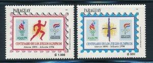 Paraguay - Atlanta Olympic Games MNH Sports Set (1996)