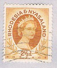 Rhodesia & Nyasaland 143B Used QEII 1954 (BP3143)