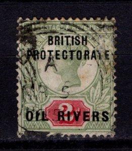 Oil Rivers (Nigeria) 1892-94 Victoria definitive [Used]