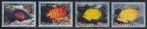 French Polynesia Scott #'s 893 - 896 MNH