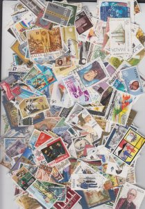 Malta collection of 400 different stamps (Pre 1995 only)
