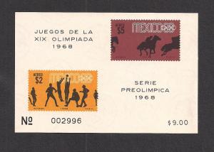 MEXICO SC# C338a VF LH 1968