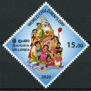 Sri Lanka 2020 MNH Cultures Stamps World Children's Day 1v Set