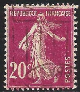 France 1926 Scott# 167 Used
