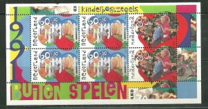 Netherlands MNH S/S B661B Children Playing SCV 7.00