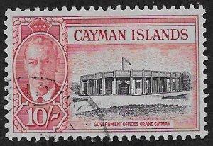 CAYMAN ISLANDS SC# 134  FVF/U 1950