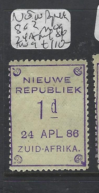 NEW REPUBLIC (P1412B) ARMS 1D  SG 2 24 APRIL, 1886  MOG