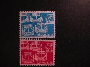 Denmark #454-55 Mint Never Hinged- (5E4) WDWPhilatelic
