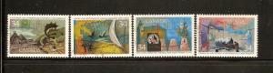CANADIAN SET ON EXPLORATION-DISCOVERERS USED STAMPS  LOT#245