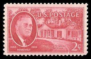 PCBstamps   US # 931 2c FDR & Little White House, MNH, (3)