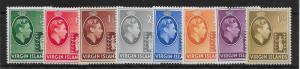 VIRGIN ISLANDS SG110/7 1938-47 DEFINITIVE SET TO 1/= MTD MINT