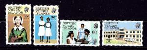 Virgin Is 446-49 MNH 1983 Nursing Week