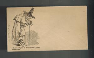 Boston USA Judaica Envelope General Agent of Southern Confederates Loan