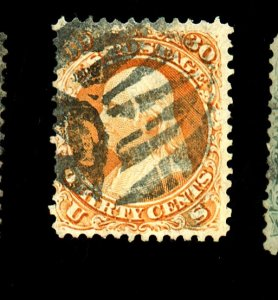 71 Used F-VF Shield Cancel Cpl sm defects Cat $200+