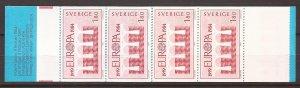 1984 Sweden -Sc 1486a - MNH VF - complete booklet - Europa