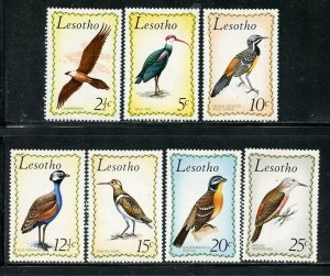Lesotho # 105-111, Mint Never Hinge. CV $ 29.50