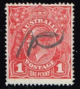 Australia # 21 Used