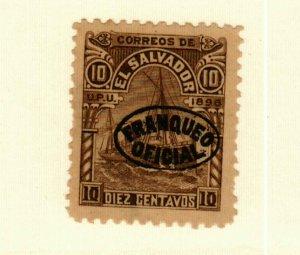 Salvador #O53 MNG CV$9.00