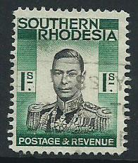 Southern Rhodesia SG 48 Used