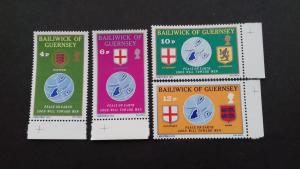 Guernsey 1975 Christmas Stamps Mint