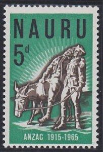 Nauru 57 MNH (1965)