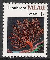 Palau #9 Marine Life MNH