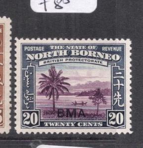 North Borneo SG 329 MOG (3dnn)