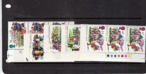 1994 SUMMERTIME BLOCKS OF 3 / PAIRS UMM/MNH SG1834-SG1838