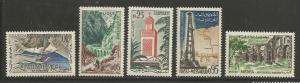 Algeria MNH sc# 291-5 Scenes 2014CV $6.75