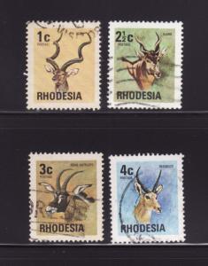 Rhodesia 328-331 U Animals