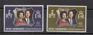New Hebrides - British 169-170 MNH