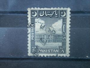 PAKISTAN, 1950, used 8a, Karachi Port Scott 52