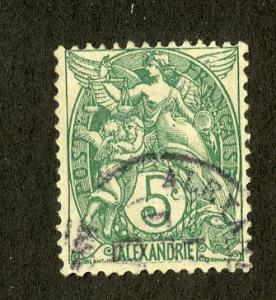 FRENCH OFFICE ABROAD ALEXANDRIA 20 USED SCV $4.25 BIN $1.50 PEOPLE